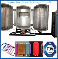 pvd plastic mobile phone sheel protection films vacuum coating/plating deposition machine