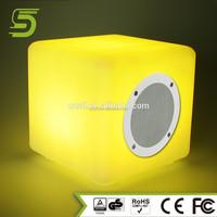 IP54 waterproof bluetooth magic cube speaker