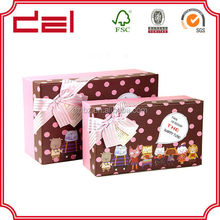 Custom Decorative Cardboard Packaging Paper Chocolate Boxes Wholesale