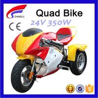 24V Electric 3 Wheel Kids Mini Quad Bike