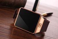 2015 Surprising price LCD touch screen DZ09 Bluetooth smart watch for Android phone