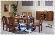 Exquisite solid teak wooden terrace outdoordining set