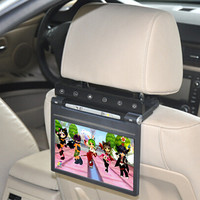 """DS-998DVD 9"""" headrest DVD player with mounting bracket"""
