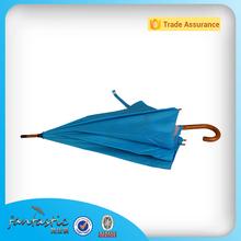 promozione ombrello di legno dritto ombrello di qualità superiore telaio