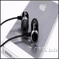 Wholesale - Original JMF 3.5mm Earphone Headphones For IPhone 6 5S 4 Samsung Xiaomi MP3 MP4 High quality Best Bass