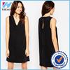 New item 2016 xxl size women casual dress women denim dress