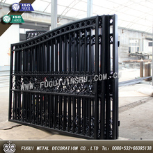 2015 years new type house main wrought iron gate designs(Factory direct)