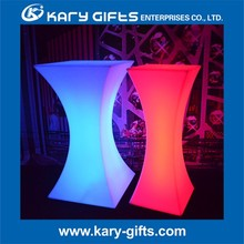 cocktail party event wedding portable led light bar table