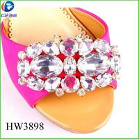 HW3898 alibaba china supplier fashion decorative shoe buckles
