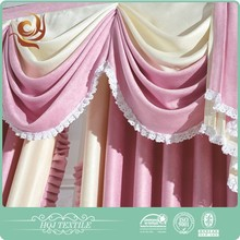 Best selling Indoor Classical lace solid voile curtain