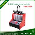 CNC600 coche Limpiador de inyector gasolina y probador del inyector de combustible Limpiador y probador Igual CNC602A DHL EL ccs