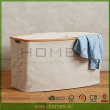 Bamboo Laundry Sorter/Laundry Bag Pattern/Homex_FSC/BSCI