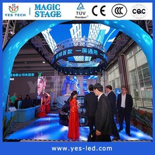 Customized Hot Selling Flexible Indoor Advertising LED Board Display