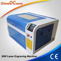 Water Break Protecting System CO2 Laser Engraving Machine Rings