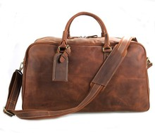7156LR Large Capacity Genuine Leather Travel Bag for Men