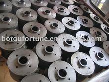piezas de hierro fundido