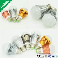 high lumen 12v dc 3w LED bulb lighting e27 50000hrs