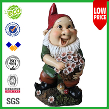 "8.5"" Factory Sale Wholesale Resin garden gnome figurines"