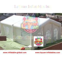 sewed inflatable event tent/inflatable wedding tent CE14960 certification