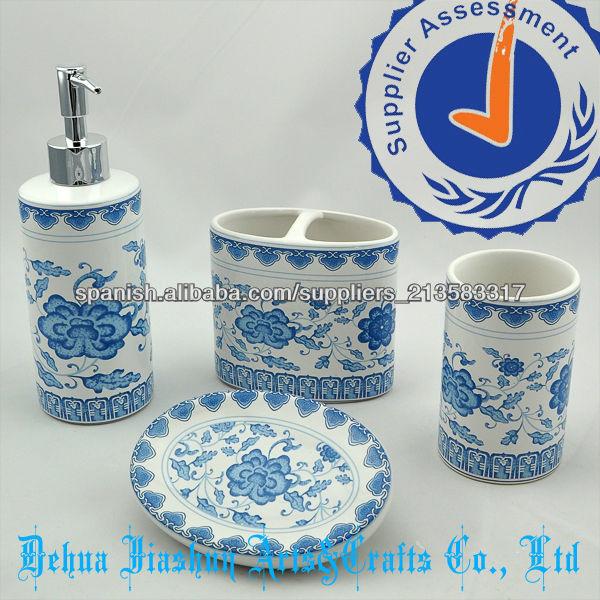 Accesorios de ba o de ceramica for Conjunto accesorios para bano