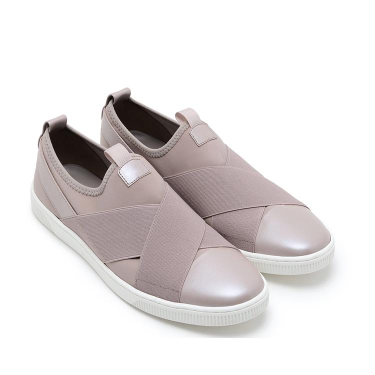 새로운 금형 가죽 이탈리아어 누드 컬러 알리바바 도매 패션 여성 2017 캐주얼 신발