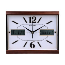 GUTEN home goods wall clocks with day and date