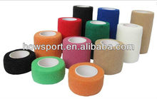 (D)Cohesive bandage Stretch wrap for horse racing & vet