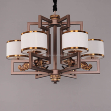 zhongshan manufacture modern popular Vintage Style iron chandelier