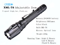 Streamlight 1000 lumen xml t6 Aluminium rechargeable LED Flashlight