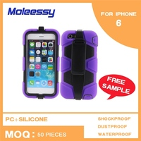 Foshan new custom and cheap silicone case for iphone 6