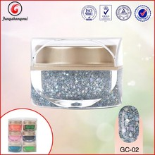 factory wholesale Sequins nail glitter shiny acylic uv gel