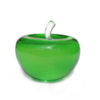crystal apple native christmas decorations with reasonable price