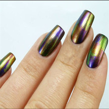 chameleon nail gel change color from different angle you see nail gel polish