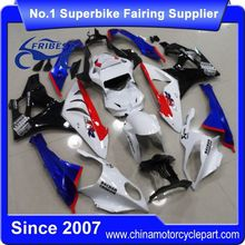 FFKBM001 Motorcycle ABS Fairing For S1000RR 2009-2014 Blue&White Black With Seat Cowl