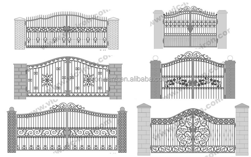 Simple House Steel Main Gate Design - Buy Steel Main Gate Design ...