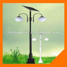Hot !!! Solar Decorative Lights For Garden 2*10W With 70W Solar Panel