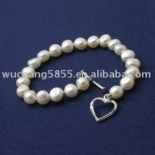 artificial pearl bracelet for party