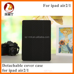 For Apple ipad 2 PU leather case for ipad air 2 case