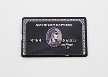 Bulk Cheap American Express credit card usb flash drive 4gb,real 8gb card usb pen drive, plastic usb stick