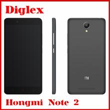 Original hongmi note 2 red rice note 2 MIUI 7 mobile phone MTK helio X10 5.5inch 1920X1080P 2GB 32GB Dual SIM 4G LTE smart Phone