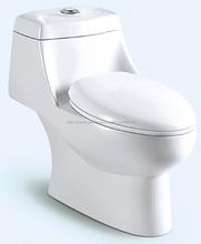 Y092 sifónico tocador de una pieza ; baño Interlligent automático inodoros
