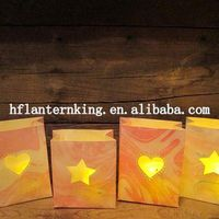 100% eco-friendly party decoration paper luminary