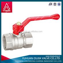 yuhuan zhejiang manufacturer of brass long stem one way ball valve