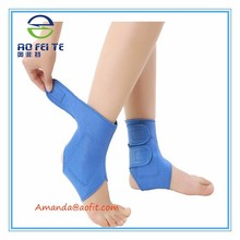 New Products Ankle Support Brace Elastic Compression Wrap Sleeve Sports Relief Pain Foot