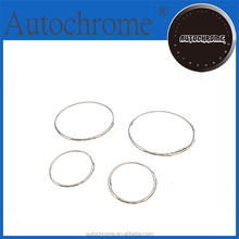Chrome car trim accent styling Dash Board Gauge Ring Set for Land Ro ver Freelander 03-05