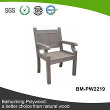 Eco-friendly and Outdoor Man-made Teak Chair