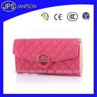 women file tote bag leather office bags for women elegant fahionable design clutch lady bag with pink color