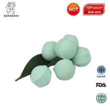 Material of Manicure Soak Balls BATHRANI Papaya & Green Tea 250g for Nail Clean Soften Cuticle Before UV Gel Nail Polish