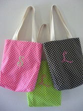 Black And White Polka Dot Bag, Handbag Women Bags Polka Dot, Dot Bag