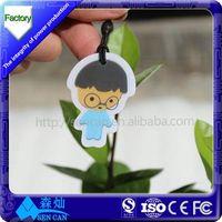 Mini Dustproof RFID Disc Tag Sticker 125khz em4102